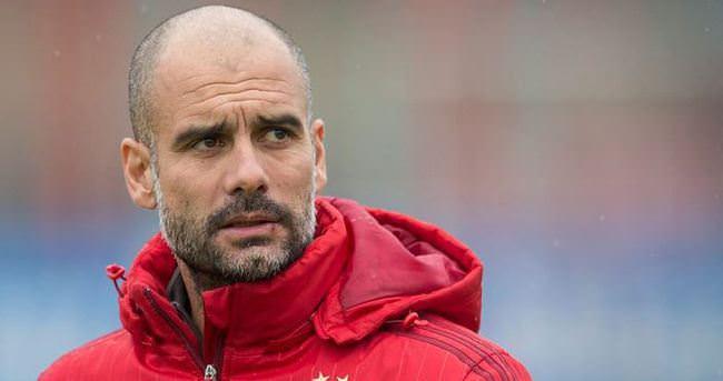 Guardiola, City'nin kapısından dönmüş