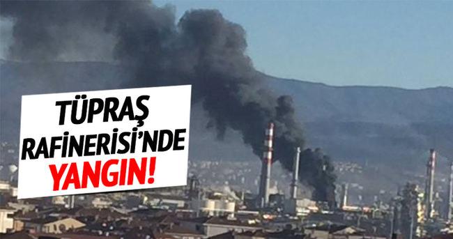 Tüpraş'ta yangın!