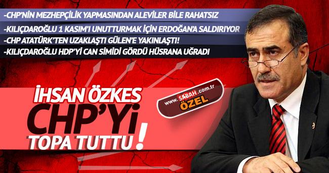 İhsan Özkes CHP'yi topa tuttu!