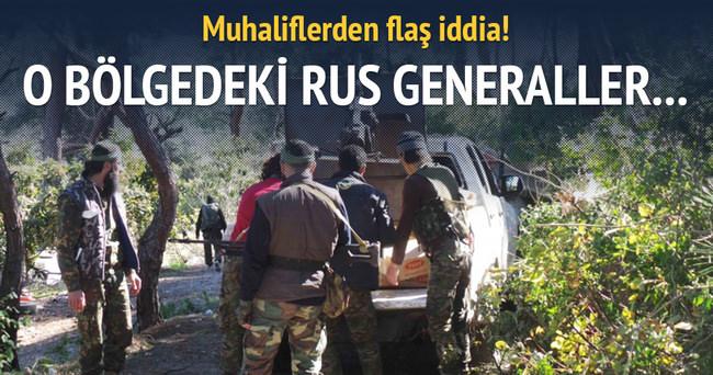 Rus generaller Türkmendağı'nda öldürüldü!