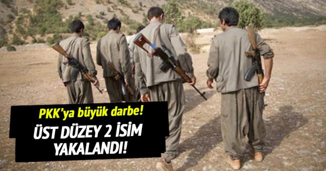 Üst düzey iki PKK'lı terörist yakalandı!
