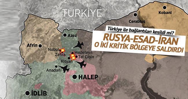 Rusya-Esad-İran oraya saldırdı