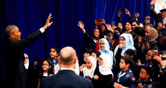 Obama'dan Müslüman topluma teşekkür