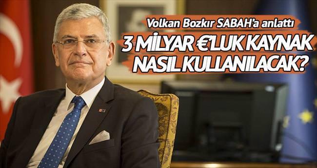 AB, Türkiye'ye 3 milyar euro kaynağı onayladı