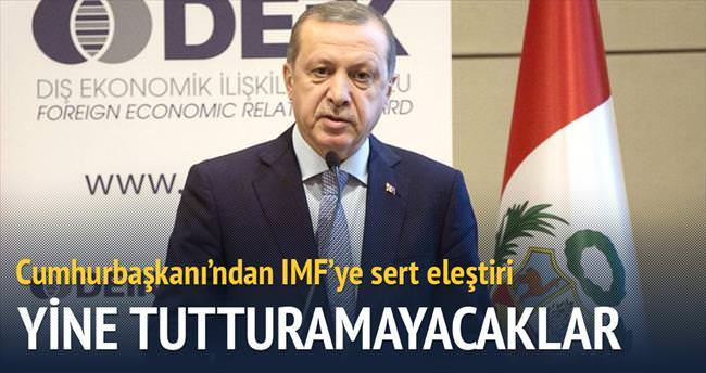 IMF yine tutturamayacak