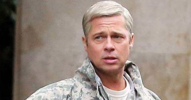 Brad Pitt yeni filmi için imaj değiştirdi