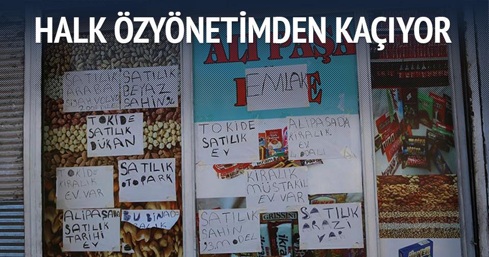 Diyarbakır halkı özyönetimden kaçıyor