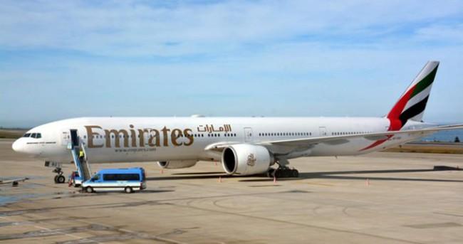 Emirates uçağı Trabzon'a acil iniş yaptı