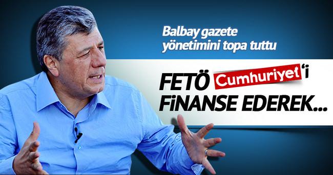 Mustafa Balbay: Beni Fethullah Gülen kovdurdu