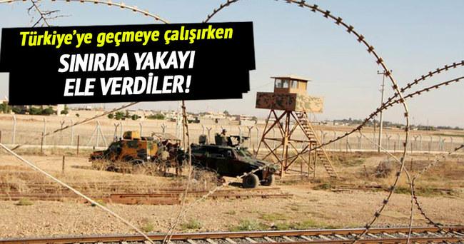 Sınırda iki terörist yakalandı!