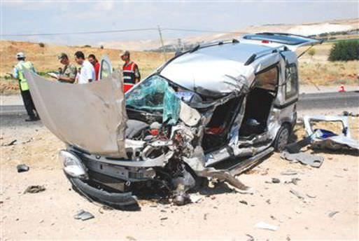 Adıyaman'da otomobil devrildi: 4 yaralı