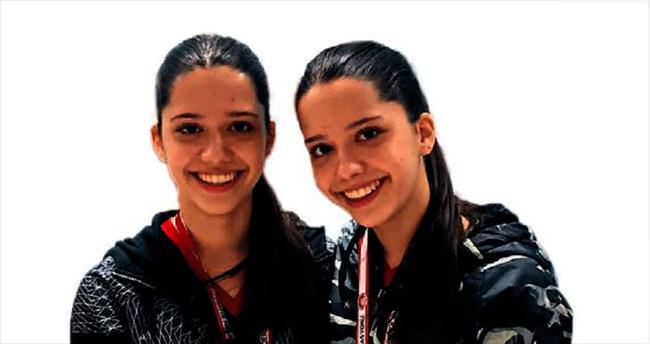 Yerebakan sporcuları ikizlerden büyük başarı
