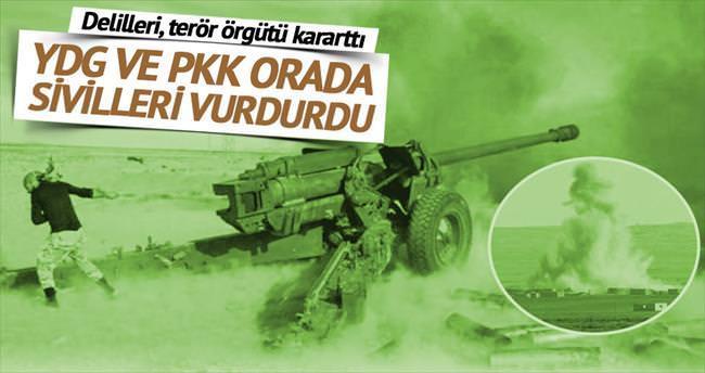 YPG-PKK, ABD'ye sivilleri vurdurttu