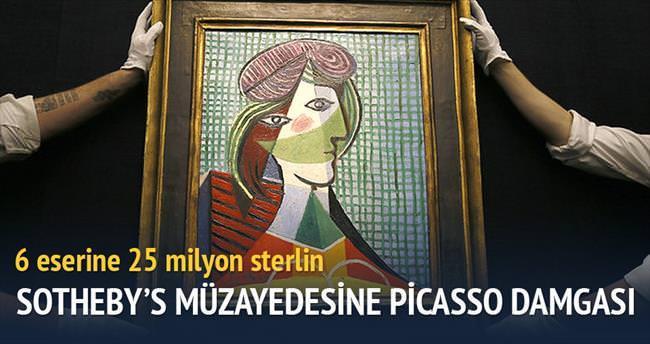 Picasso'nun 6 eserine 25 milyon sterlin