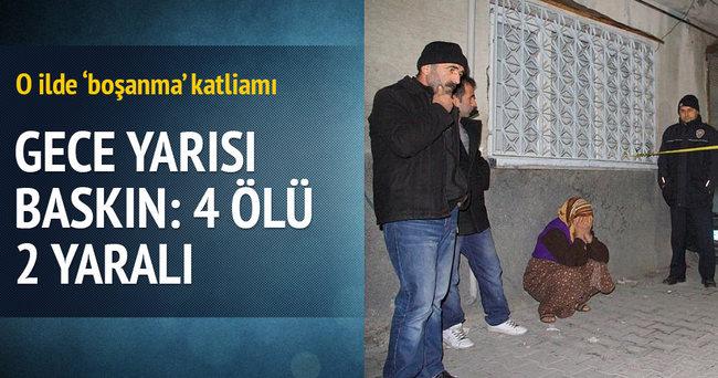 Gaziantep'te ayrı yaşadığı eşinin teyzesinin evini bastı: 4 ölü, 1 yaralı