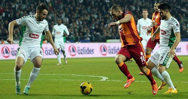 Galatasaray ile Torku Konyaspor 30. maça çıkıyor