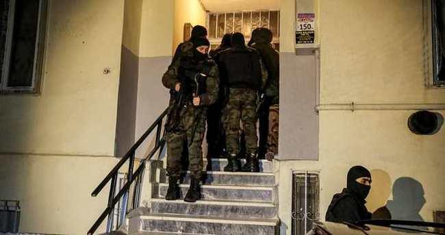 Esenyurt'ta terör örgütü operasyonu