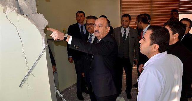 Sağlık Bakanı Müezzinoğlu Cizre'de