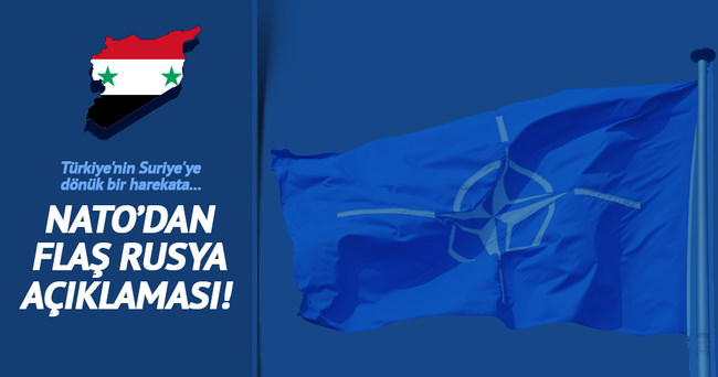 NATO: Rusya, Suriye barış görüşmelerini baltalıyor