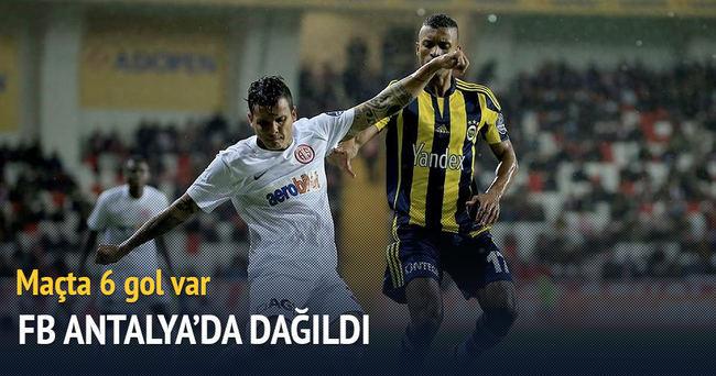 Fenerbahçe Antalya şoku
