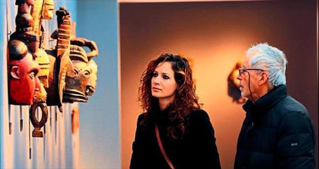 İzmirliler 'Kara Afrika Sanatı'nı sevdi