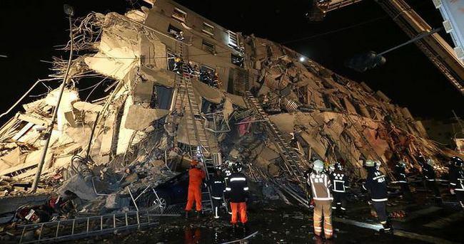 Tayvan'da deprem: 5 ölü