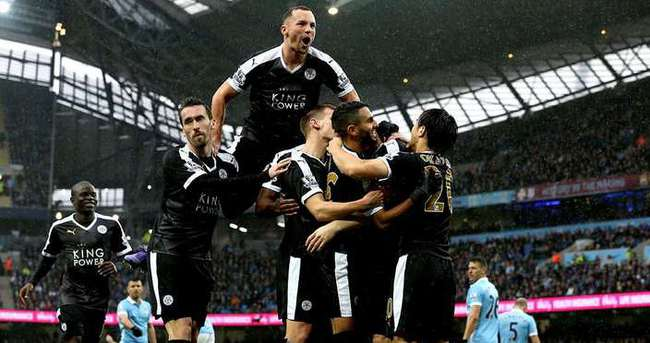 Leicester City şampiyonluğa koşuyor