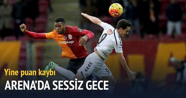Galatasaray Torku Konyaspor'la berabere kaldı