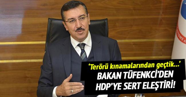 Tüfenkci'den HDP'ye sert eleştiri!