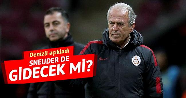 Mustafa Denizli'den Burak Yılmaz ve Sneijder açıklaması