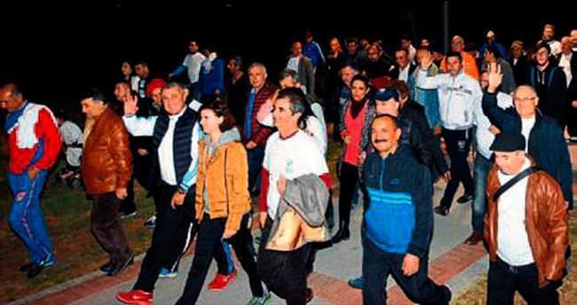 Manavgatlılar sağlık için yürüyüş yaptı