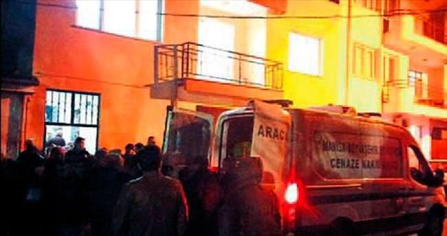 Manisa'da sobadan sızan gaz can aldı