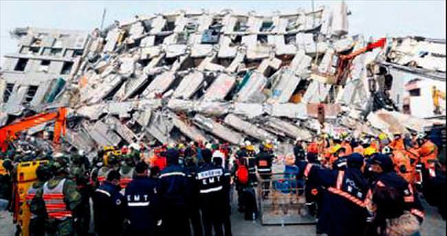 Tayvan'ı deprem vurdu: 15 ölü, 172 kayıp...