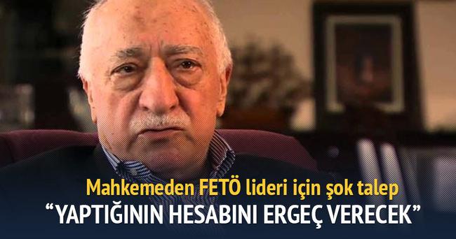 'Askeri casusluk' davasında Gülen'in DNA'sı istendi