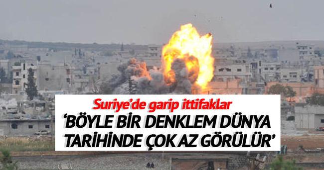 Suriye'de garip ittifaklar!