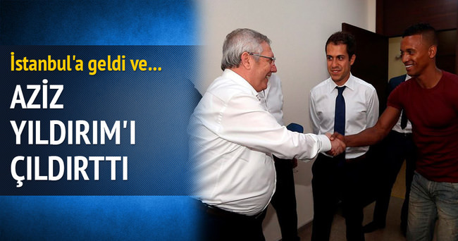 AZİZ YILDIRIM'I ÇILDIRTTI