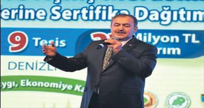 Bakan Eroğlu'ndan Denizli'ye müjdeler