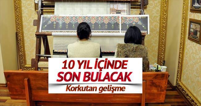 'Türk halısı 10 yıla biter'