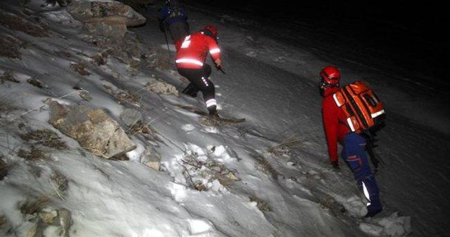Tırmanışta yaralanan dağcı kurtarıldı