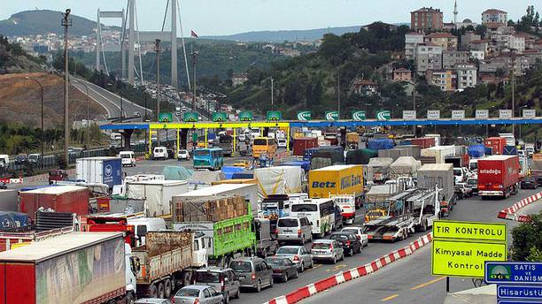 Köprü ve otoyollar saniyede 21 lira getirdi