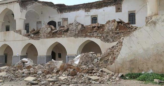 Kerkük'teki Osmanlı yadigarı yıkıldı