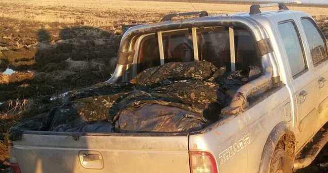 Yunanistan'dan getirilen 2 ton 370 kilo kaçak et, jandarmaya takıldı