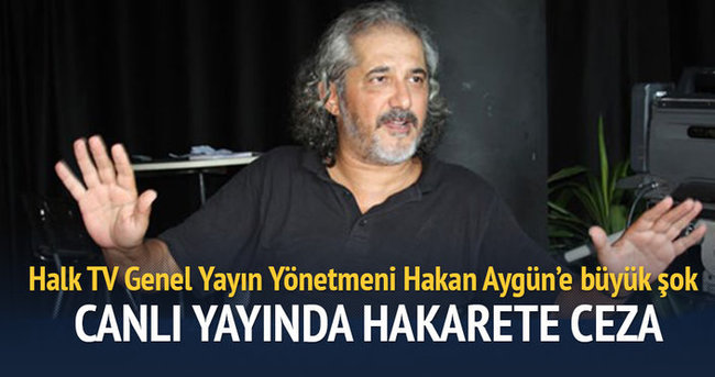 Halk TV Genel Yayın Yönetmeni'ne Kurtulmuş'a hakaretten para cezası