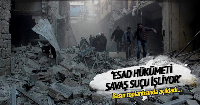 BM: Esad hükümeti savaş suçu işliyor