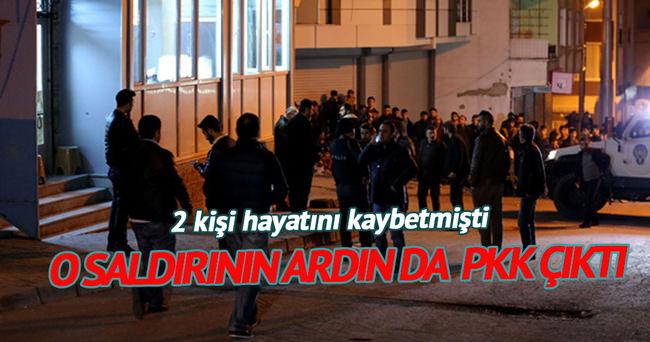 O saldırının ardından da PKK çıktı