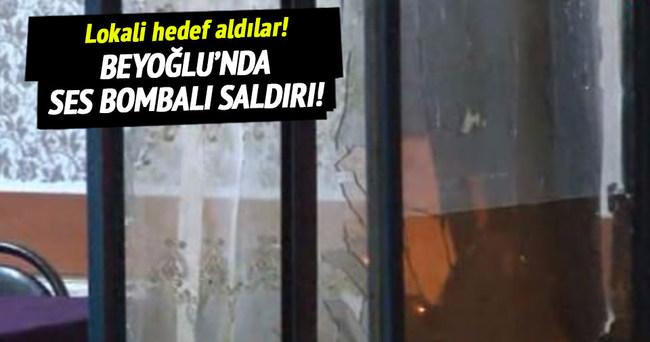 Beyoğlu'nda bombalı saldırı!