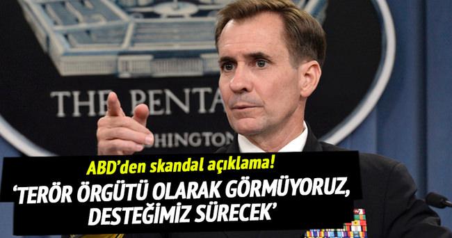 ABD'den flaş YPG açıklaması!