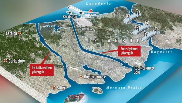 Kanal İstanbul un güzergahı antik çağ mağarasıyla değişti ...