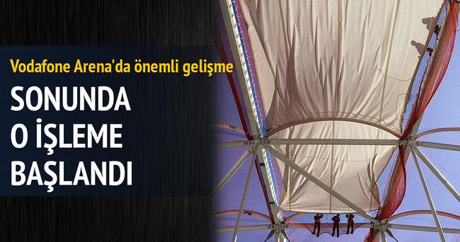 VODAFONE ARENA'DA ÖNEMLİ GELİŞME