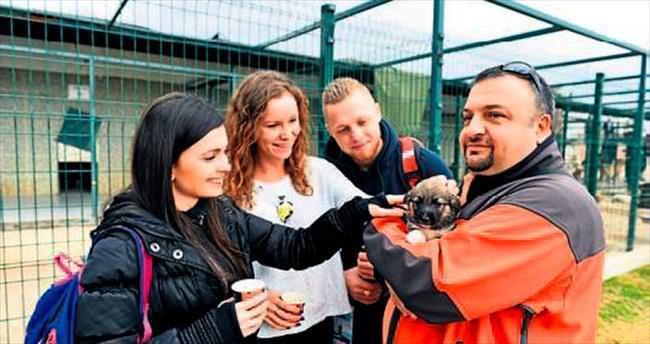 Gençlerden hayvan sevgisine tam not